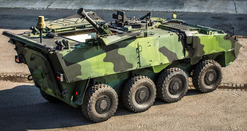 120 mm ShM Pandur II 8x8 CZ
