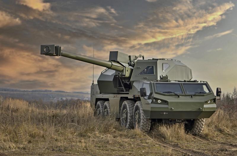 kanonová houfnice DITA 155 mm (2)
